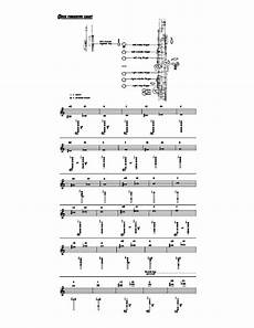 Oboe Chart Oboe Chart Sample Free Download