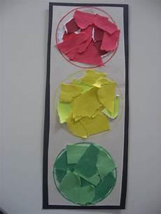 Light Theme Preschool Color Matching Activity Traffic Light Transportation