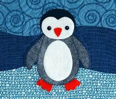 penguin applique polar babies quilt and pillow betz white