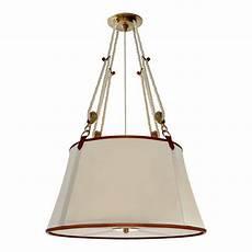Ralph Light Fixtures Miramar Large Hanging Shade Natural Brass Lighting