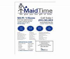Examples Of Cleaning Business Flyers Residential Amp House Cleaning Business Flyer Examples