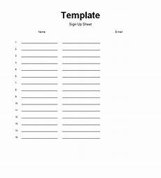 Free Template For Sign Up Sheet Sign Up Sheets Template Charlotte Clergy Coalition