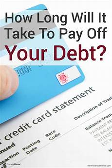 How Long To Pay Off Debt Calculator Debt Calculator Get Out Of Debt Tips Amp Tricks