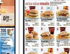 Will Calorie Counts On Drive Thru Menus At Mcdonald S Make