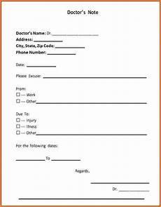 Doctors Statement 2 Fake Doctor Note Registration Statement 2017