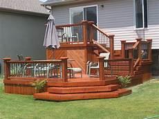 Two Level Deck Designs Multi Level Deck Ideas Building A Deck Tiered Deck