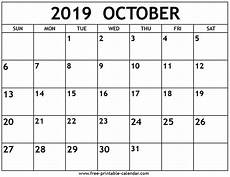October 2020 Calendar Template October 2019 Calendar Excel Free October 2019 Calendar