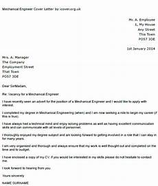 Engineer Cover Letters Mechanical Engineer Cover Letter Example Icover Org Uk