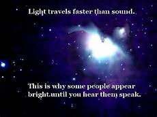 Light And Sound Which Travels Faster Light Travels Faster Than Sound On Myquoty