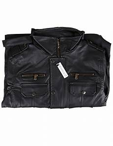 Senfloco Size Chart Senfloco Men S Pu Leather Motorcycle Jacket Stand Collar