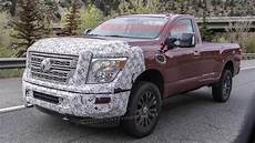 2020 Nissan Titan Updates by 2020 Nissan Titan Xd Spied Out Testing In Autoblog