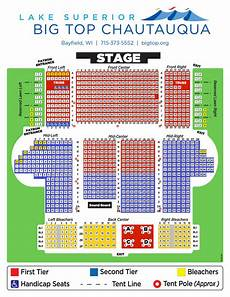 Chautauqua Amphitheater Seating Chart Schedule Big Top Chautauqua