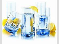 Libbey 55756F Impressions Misty Blue Glassware Set w/ (8