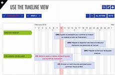 Timeline Action Plan Template Visual Reporting Project Or Action Plan Scheduling