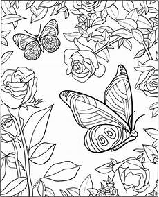 Printable Coloring Pages For Seniors Butterfly Coloring Pages For Adults Best Coloring Pages