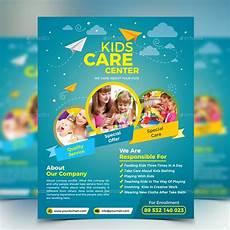Child Care Flyer Design Kids Care Flyer
