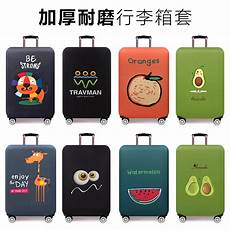 suitcase sleeve 9 23 wear resistant elastic suitcase sleeve travel pull