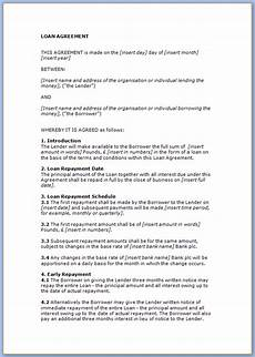 Repayment Contract Templates Free Printable Loan Repayment Contract Template Templateral