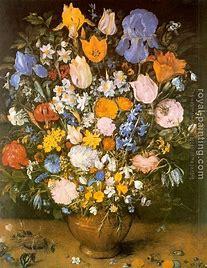 Résultat d'images pour jan brueghel bouquet de fleurs