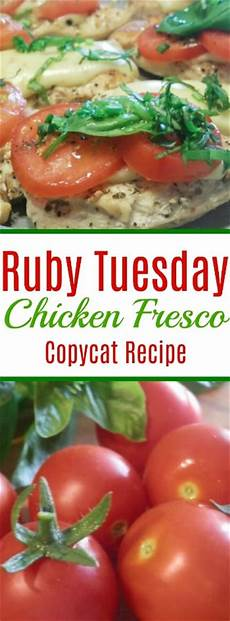 ruby tuesday chicken fresco copycat recipe