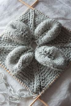 knit inspiration needlework inspiration knitted leaf lace squares