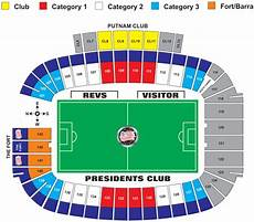 Gillette Stadium Soccer Seating Chart Gillette Stadium Seating Chart Revolution Gillette