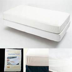 size fitted mattress cover vinyl waterproof allergy