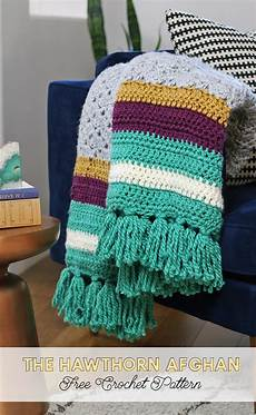 the hawthorn afghan free crochet afghan pattern lou