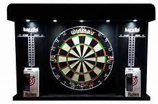 steeldart set dartboard winmau blade 5 cabinet 2 set roleo