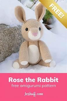 the rabbit free amigurumi pattern jess huff