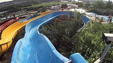 Blue Slides Blue Water Slide At Aquar 233 Na Youtube