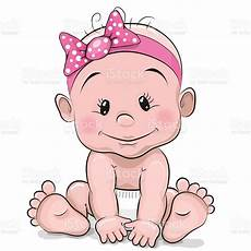 Cartoon Babies Pictures Cute Cartoon Baby Girl Stock Illustration Download Image