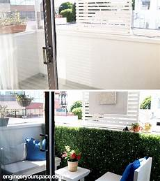 rental apartment balcony makeover before and after the