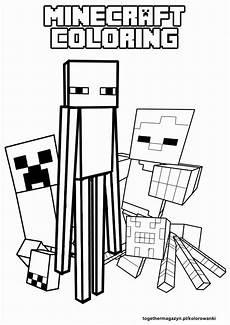 Malvorlagen Minecraft Versilia Kolorowanki Minecraft Pobierz I Wydrukuj Togethermagazy