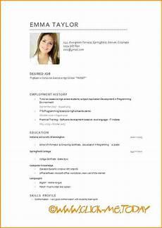 Curriculum Vitae Word Curriculum Vitae Word Modelo De Curriculum Vitae