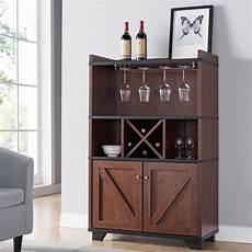 furniture of america keya farmhouse 31 inch wine cabinet
