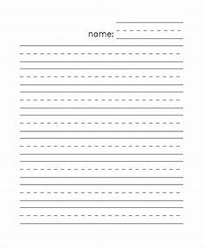 Printable Lined Paper Kindergarten Custom Writing Paper Kindergarten Custom Printable