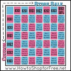 Bogo Chart For Couponing Quot Bogo Cheat Chart Quot How To Shop For Free With Kathy Spencer