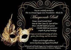 Masquerade Invitation Birthday Party Invitations Free Templates Drevio
