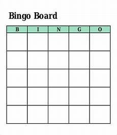 Bingo Card Template Microsoft Word Bingo Card Template 8 Free Word Pdf Vector Format