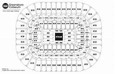 Greensboro Coliseum Seating Chart For Wwe Seating Chart See Seating Charts Module Greensboro