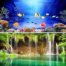 Fish Aquarium Backgrounds Printable Wow Double Sided Aquarium Poster Background Fish Tank