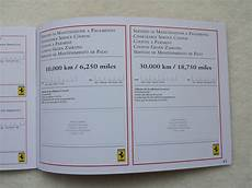 Car Service Record Book Ferrari Duplicate Service History Aldous Voice