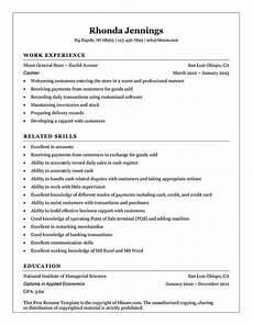 What Does A Cashier Do Resume Cashier Resume Templates And Job Tips Hloom