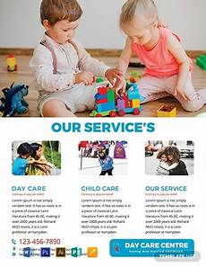 Free Daycare Flyer Templates 10 Daycare Flyer Templates Illustrator Indesign Ms