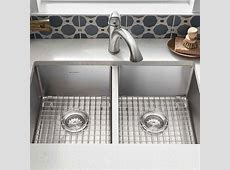 Pekoe 29x18 Double Bowl Kitchen Sink   American Standard