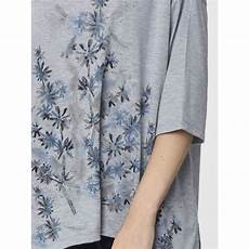 thought grey marle printed shandor top thought