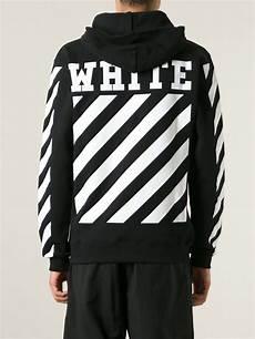 Black And White Designer Hoodie Off White C O Virgil Abloh New Caravaggio Hoodie In