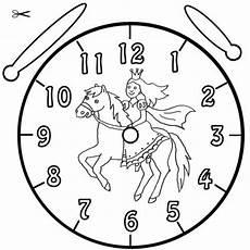 Malvorlagen Uhr Pferd Kostenlose Malvorlage Uhrzeit Lernen Ausmalbild