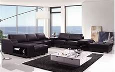 Modern Leather Sofa 3d Image by T270 Modern Leather Sectional Sofa